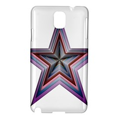 Star Abstract Geometric Art Samsung Galaxy Note 3 N9005 Hardshell Case