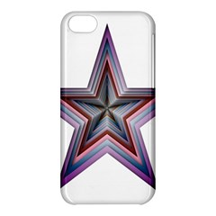 Star Abstract Geometric Art Apple Iphone 5c Hardshell Case