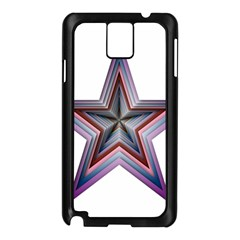 Star Abstract Geometric Art Samsung Galaxy Note 3 N9005 Case (black)
