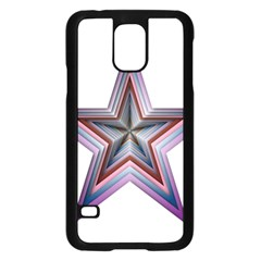 Star Abstract Geometric Art Samsung Galaxy S5 Case (black)