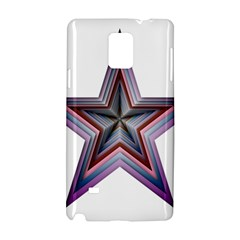 Star Abstract Geometric Art Samsung Galaxy Note 4 Hardshell Case