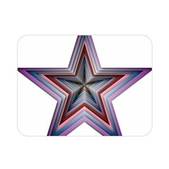 Star Abstract Geometric Art Double Sided Flano Blanket (mini)