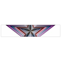 Star Abstract Geometric Art Flano Scarf (small)