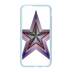 Star Abstract Geometric Art Apple Seamless iPhone 6/6S Case (Color)