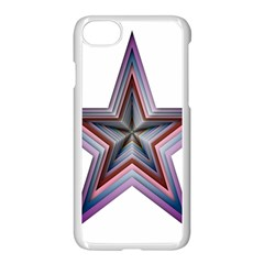 Star Abstract Geometric Art Apple Iphone 7 Seamless Case (white)