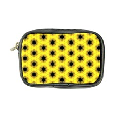 Yellow Fractal In Kaleidoscope Coin Purse