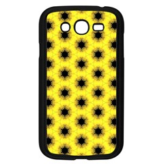 Yellow Fractal In Kaleidoscope Samsung Galaxy Grand Duos I9082 Case (black)
