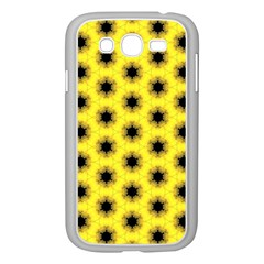 Yellow Fractal In Kaleidoscope Samsung Galaxy Grand Duos I9082 Case (white)
