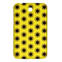 Yellow Fractal In Kaleidoscope Samsung Galaxy Tab 3 (7 ) P3200 Hardshell Case