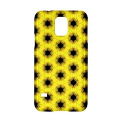 Yellow Fractal In Kaleidoscope Samsung Galaxy S5 Hardshell Case