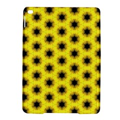 Yellow Fractal In Kaleidoscope Ipad Air 2 Hardshell Cases
