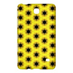Yellow Fractal In Kaleidoscope Samsung Galaxy Tab 4 (7 ) Hardshell Case