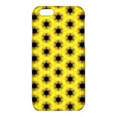 Yellow Fractal In Kaleidoscope iPhone 6/6S TPU Case