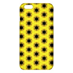 Yellow Fractal In Kaleidoscope Iphone 6 Plus/6s Plus Tpu Case