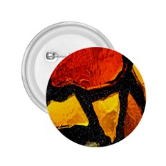 Colorful Glass Mosaic Art And Abstract Wall Background 2.25  Buttons