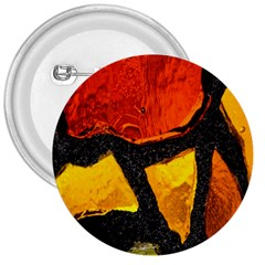 Colorful Glass Mosaic Art And Abstract Wall Background 3  Buttons