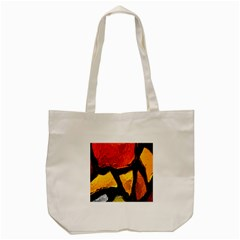 Colorful Glass Mosaic Art And Abstract Wall Background Tote Bag (cream)
