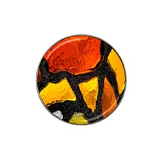 Colorful Glass Mosaic Art And Abstract Wall Background Hat Clip Ball Marker