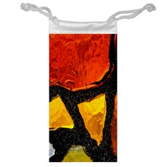 Colorful Glass Mosaic Art And Abstract Wall Background Jewelry Bag