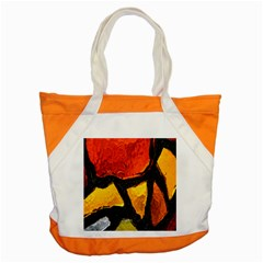 Colorful Glass Mosaic Art And Abstract Wall Background Accent Tote Bag