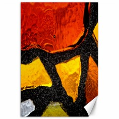 Colorful Glass Mosaic Art And Abstract Wall Background Canvas 20  X 30