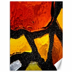 Colorful Glass Mosaic Art And Abstract Wall Background Canvas 36  X 48