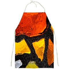 Colorful Glass Mosaic Art And Abstract Wall Background Full Print Aprons
