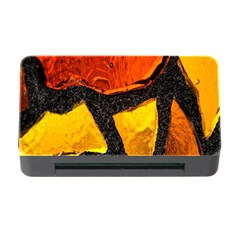 Colorful Glass Mosaic Art And Abstract Wall Background Memory Card Reader With Cf