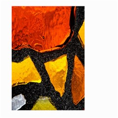 Colorful Glass Mosaic Art And Abstract Wall Background Large Garden Flag (Two Sides)