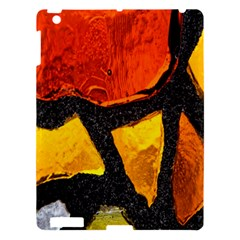 Colorful Glass Mosaic Art And Abstract Wall Background Apple iPad 3/4 Hardshell Case