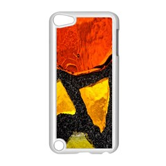Colorful Glass Mosaic Art And Abstract Wall Background Apple Ipod Touch 5 Case (white)