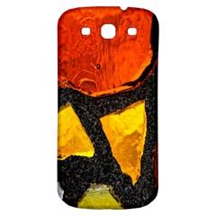 Colorful Glass Mosaic Art And Abstract Wall Background Samsung Galaxy S3 S Iii Classic Hardshell Back Case