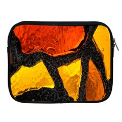 Colorful Glass Mosaic Art And Abstract Wall Background Apple Ipad 2/3/4 Zipper Cases