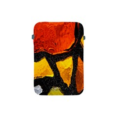 Colorful Glass Mosaic Art And Abstract Wall Background Apple Ipad Mini Protective Soft Cases