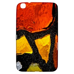 Colorful Glass Mosaic Art And Abstract Wall Background Samsung Galaxy Tab 3 (8 ) T3100 Hardshell Case