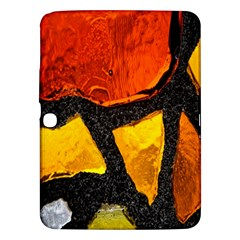 Colorful Glass Mosaic Art And Abstract Wall Background Samsung Galaxy Tab 3 (10.1 ) P5200 Hardshell Case