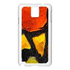 Colorful Glass Mosaic Art And Abstract Wall Background Samsung Galaxy Note 3 N9005 Case (white)