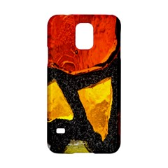 Colorful Glass Mosaic Art And Abstract Wall Background Samsung Galaxy S5 Hardshell Case