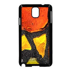 Colorful Glass Mosaic Art And Abstract Wall Background Samsung Galaxy Note 3 Neo Hardshell Case (Black)