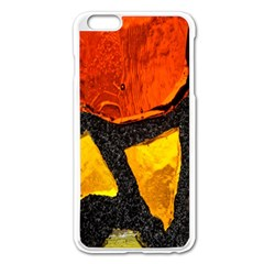 Colorful Glass Mosaic Art And Abstract Wall Background Apple Iphone 6 Plus/6s Plus Enamel White Case