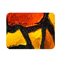 Colorful Glass Mosaic Art And Abstract Wall Background Double Sided Flano Blanket (mini)