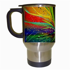 Future Abstract Desktop Wallpaper Travel Mugs (white)