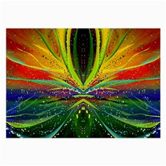 Future Abstract Desktop Wallpaper Large Glasses Cloth (2 Side)