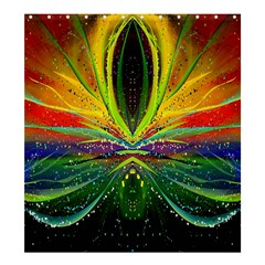 Future Abstract Desktop Wallpaper Shower Curtain 66  X 72  (large)