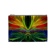 Future Abstract Desktop Wallpaper Cosmetic Bag (medium)