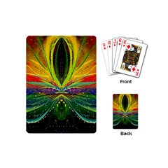 Future Abstract Desktop Wallpaper Playing Cards (mini)