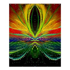Future Abstract Desktop Wallpaper Shower Curtain 60  x 72  (Medium)