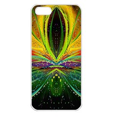 Future Abstract Desktop Wallpaper Apple iPhone 5 Seamless Case (White)