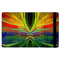 Future Abstract Desktop Wallpaper Apple Ipad 3/4 Flip Case