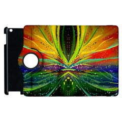 Future Abstract Desktop Wallpaper Apple Ipad 3/4 Flip 360 Case